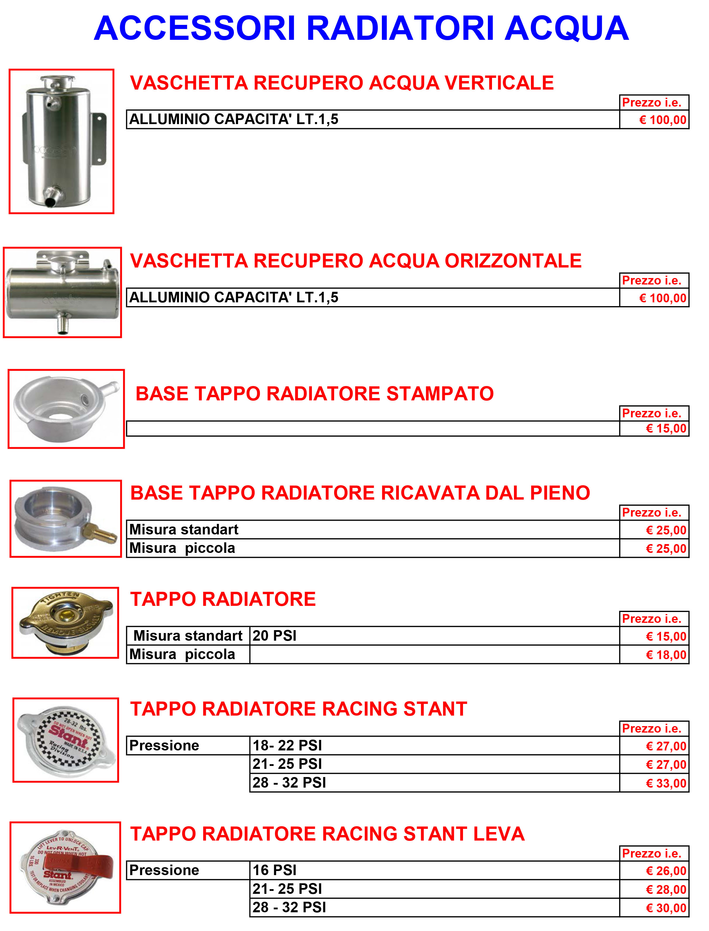 vaschette acqua e accessori -1